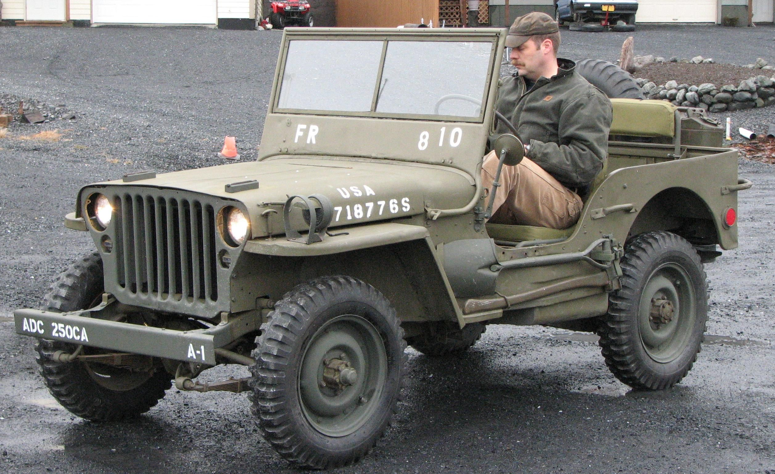hight resolution of willys mb jeep