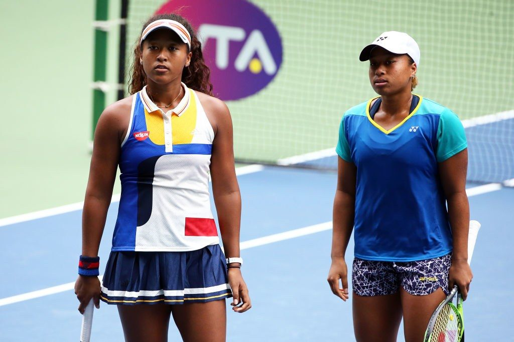 Mari And Naomi Osaka Could Be The Next Venus And Serena Williams Venus And Serena Williams Osaka Best Tennis Rackets