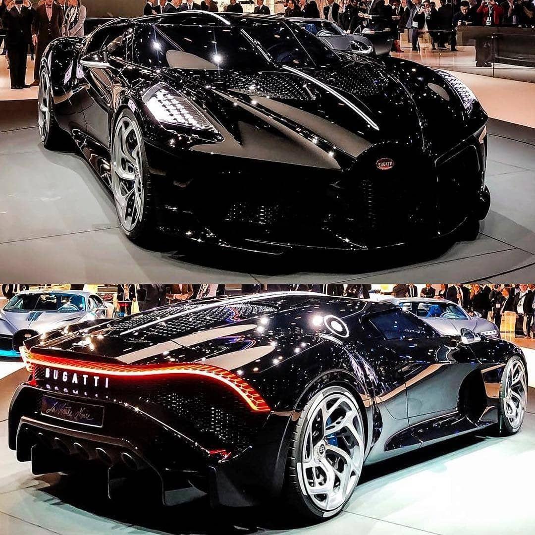 The Brand New €16.7M Bugatti La Voiture Noire. 🔥 1 Of 1