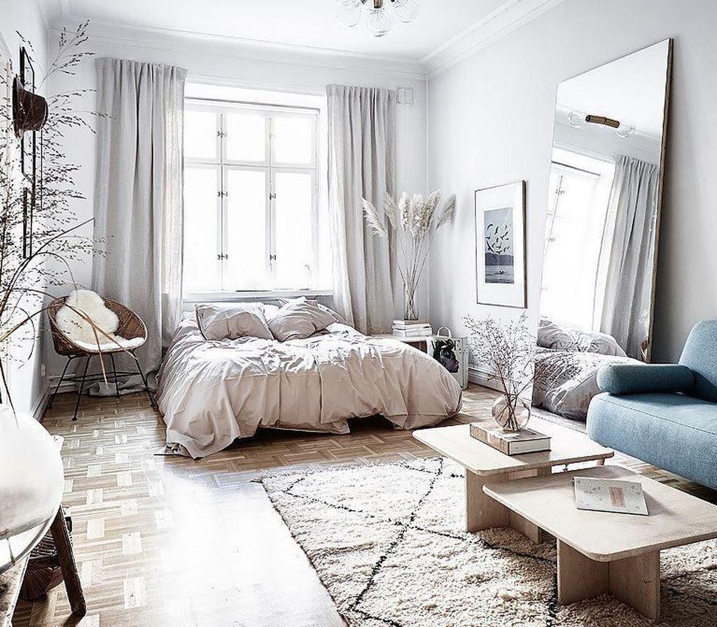 48 Beautiful Studio Apartment Decoration Ideas images