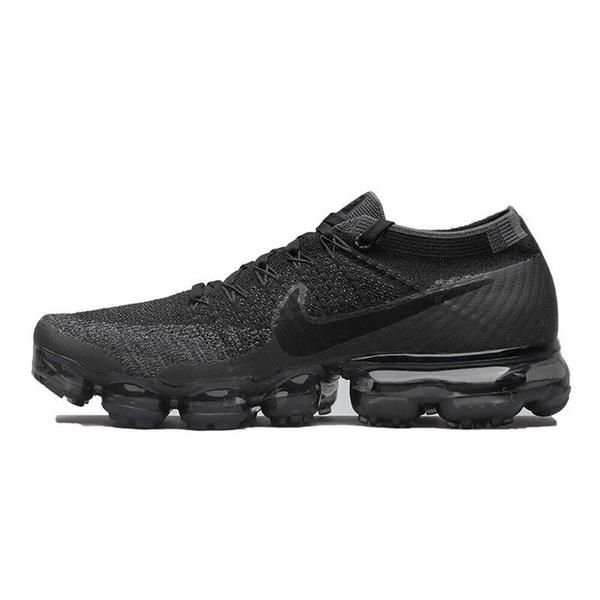 58e6c1f9b342a2 Original Nike Air VaporMax Be True Flyknit Breathable Men s Running Shoes  Outdoor Sports Comfortable Durable Jogging Sneakers