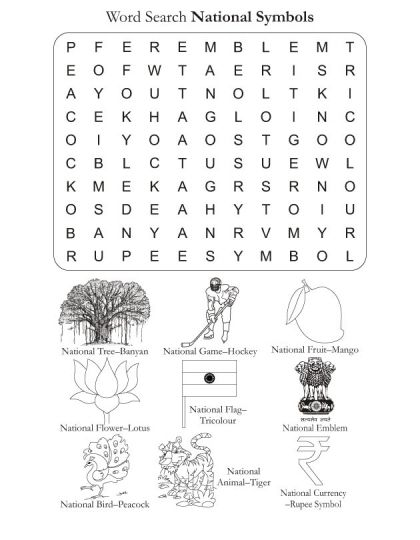 Word Search Puzzle National Symbols Download Free Word Search Puzzle National Symbols For Kids B National Symbols Free Word Search Puzzles Free Word Search