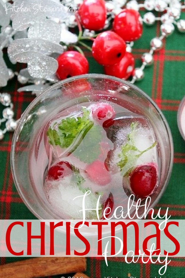 Delightful Elementary School Christmas Party Ideas Part - 5: Pretty Red And Green Ice Cubes For A Healthy School Celebration - Christmas  Party Ideas Including Games, Real Food, And Crafts For Elementary School  Kids.