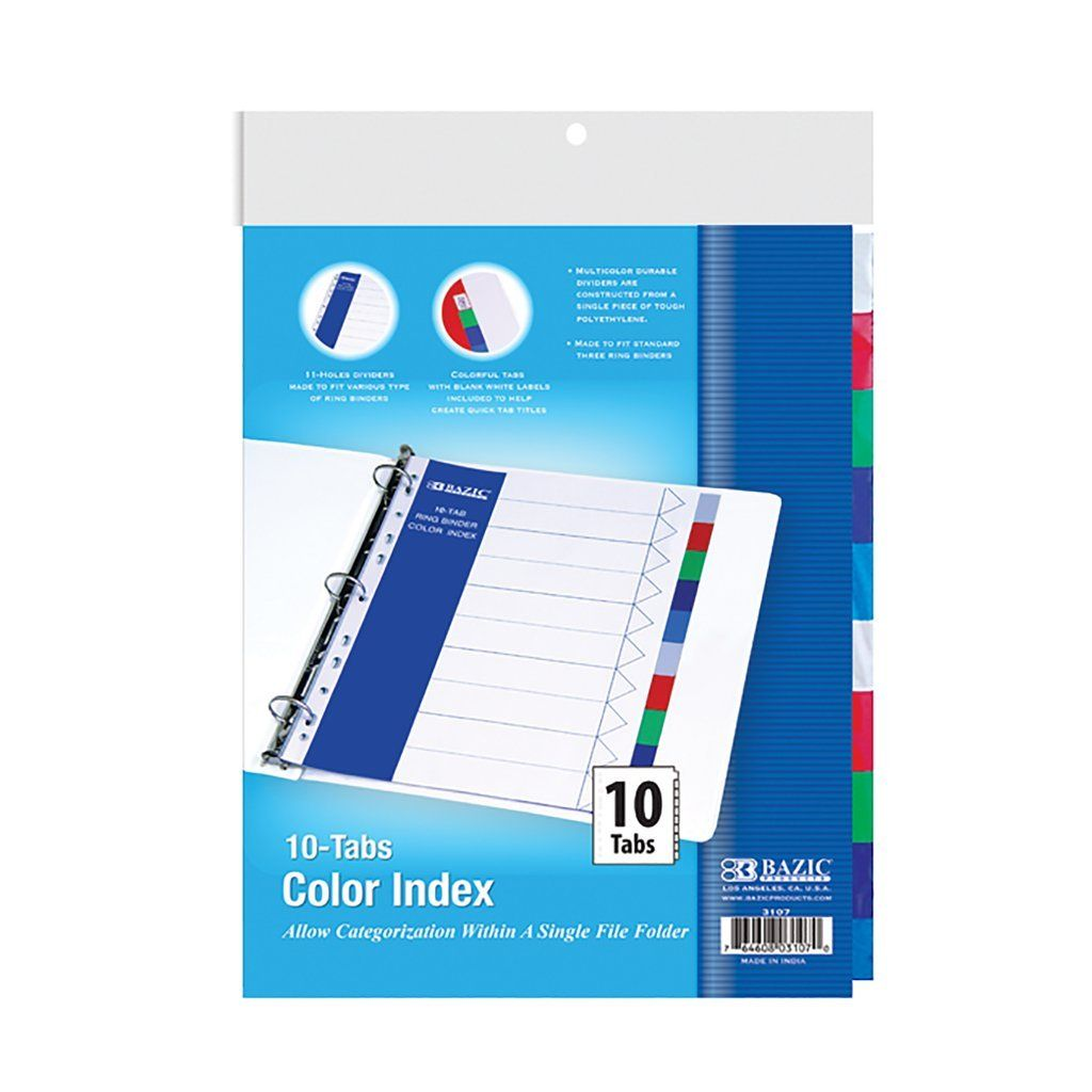 3 Pk BAZIC Translucent Slider Pencil Case w//PDQ Display Color May Vary