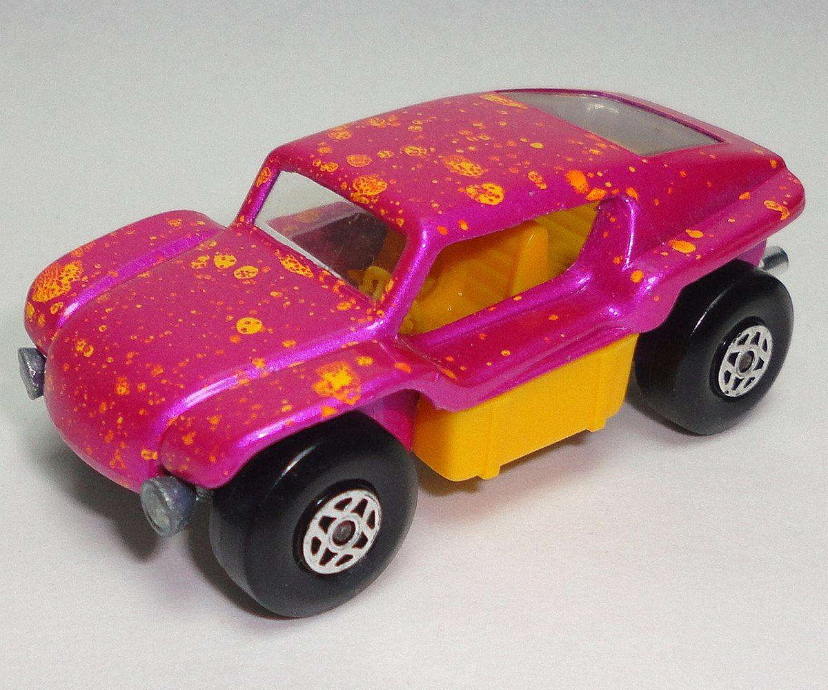 Vintage 1971 Matchbox Pink Beach Buggy Number 30 / Vintage