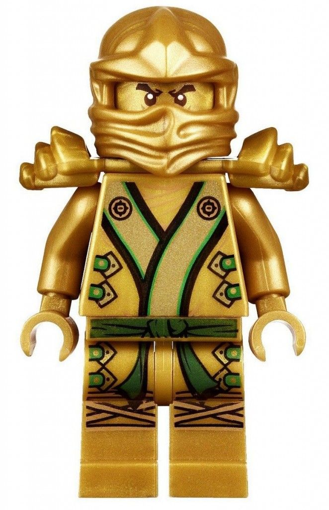 Golden Ninja Pictures Of Lloyd From Ninjago
