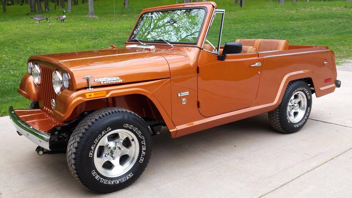 1971 Jeep Jeepster In 2020 Jeepster Jeepster Commando Jeep