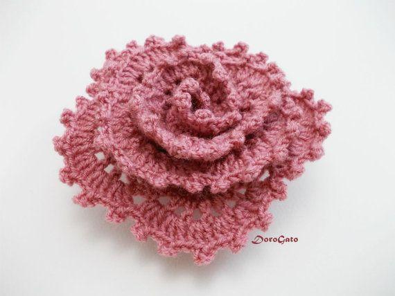 PDF DOWNLOAD Easy crochet flower pattern crochet by PatternsDG ...