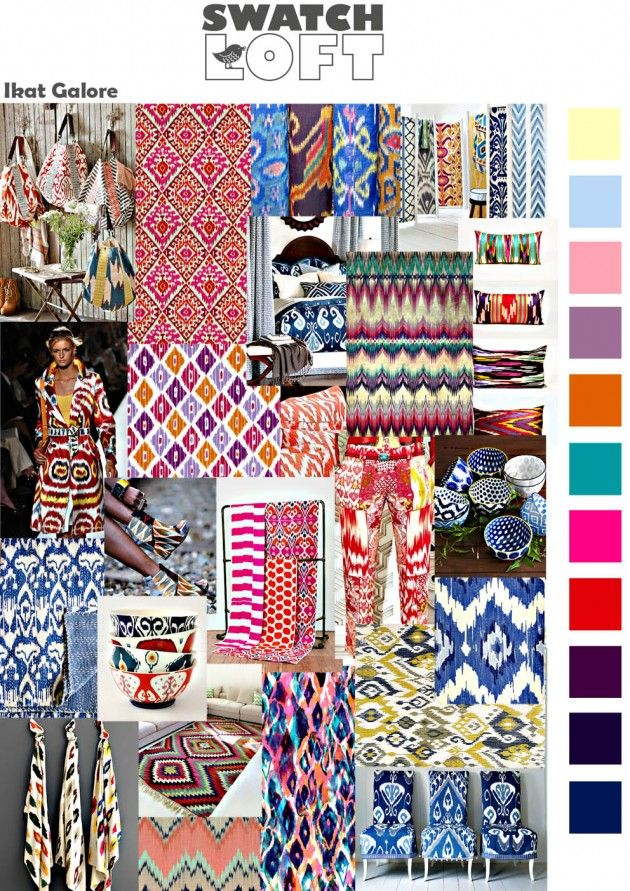 Ikat Galore is a trend that will have you travelling back to it\u0027s