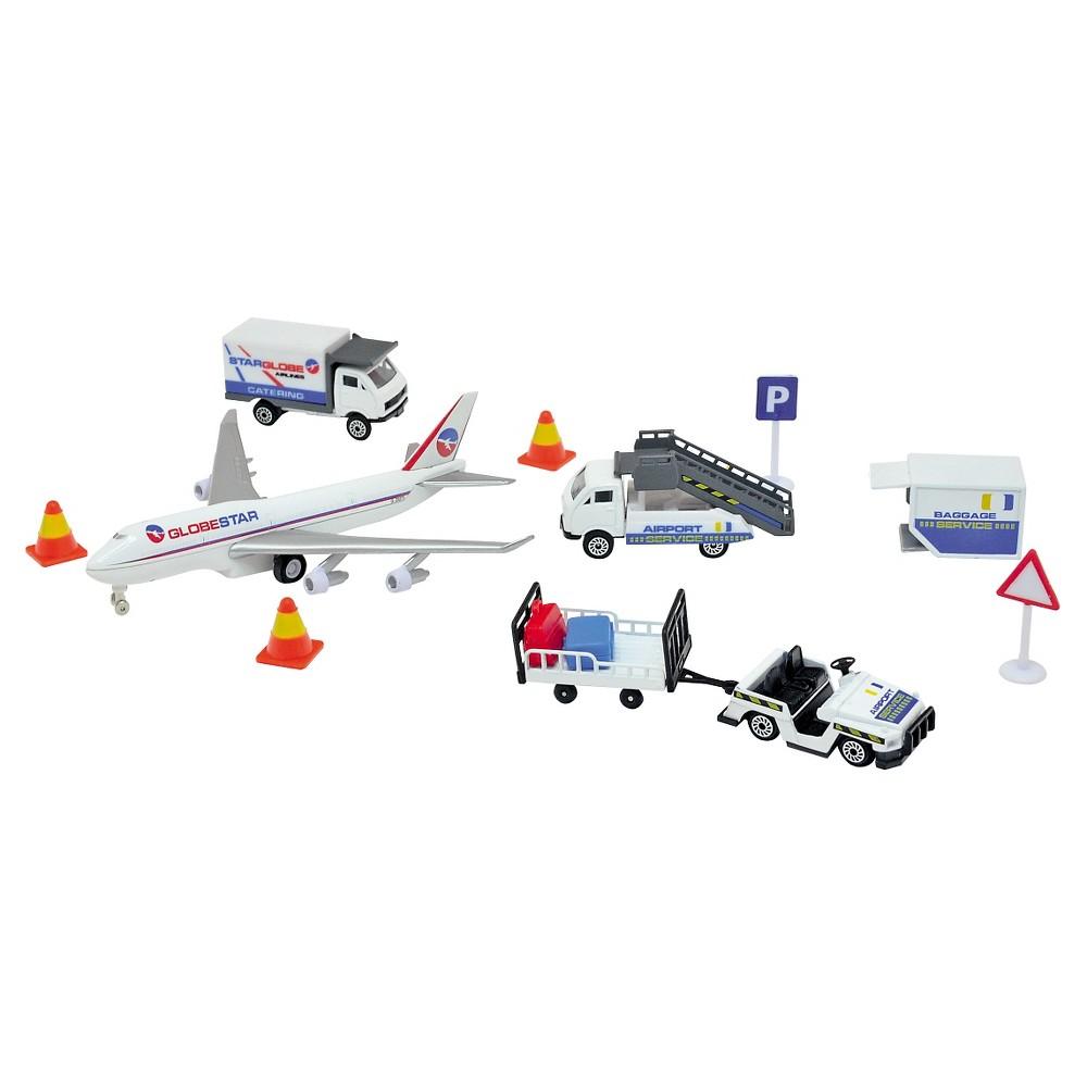 Dickie Toys Airport Playset, White