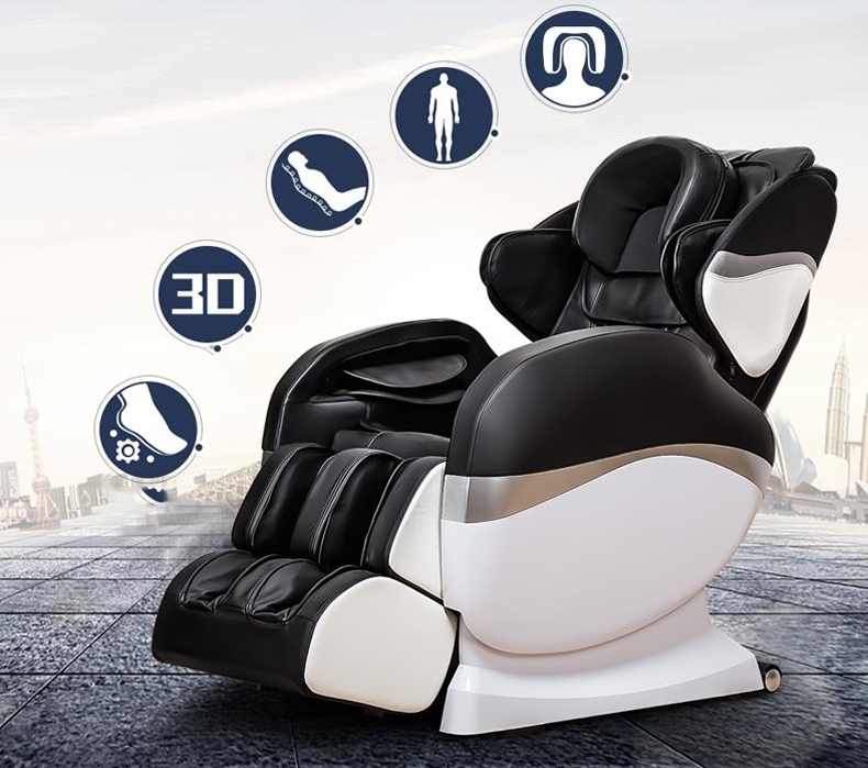 1639.08$  Buy here - http://ali7dl.worldwells.pw/go.php?t=32751014486 - Long s-shaped curve Manipulator massage chair Electric intelligent massage chair Household massage device/tb180906/4