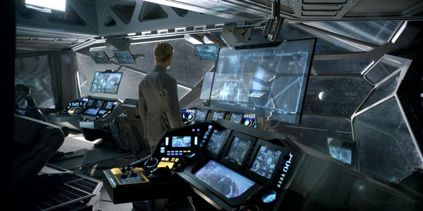 Prometheus Bridge Computeres Ai Ui Displays Cockpit