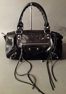 Balenciaga Classic Twiggy Black Bag Available At The Real S Luxury Consignment Vancouver