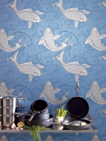 Passt zu Kulinaria und Küche: Tapete Derwent von Osborne & Little ...