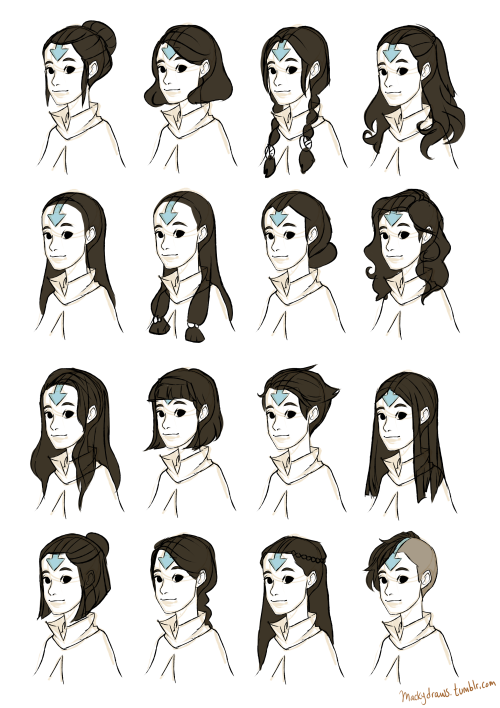 Draw Hair Avatar Airbender Avatar The Last Airbender Art Avatar Aang