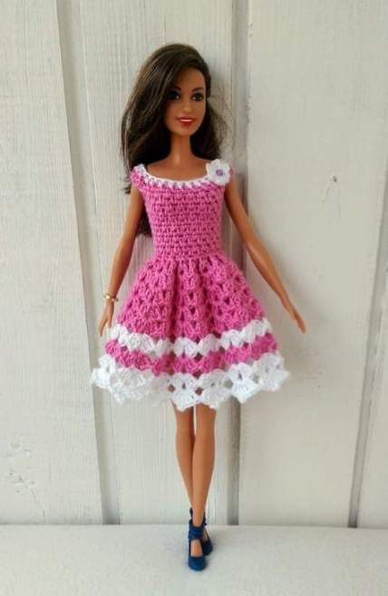 Crochet Doll Clothes Barbie Etsy 38 Best Ideas #dollclothes