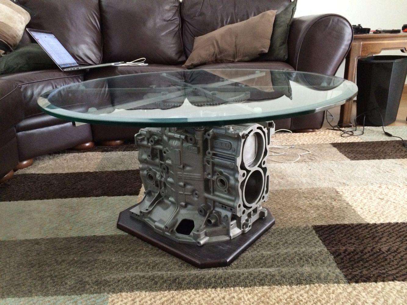 Subaru Engine Table Engine Table Engine Coffee Table Engine House