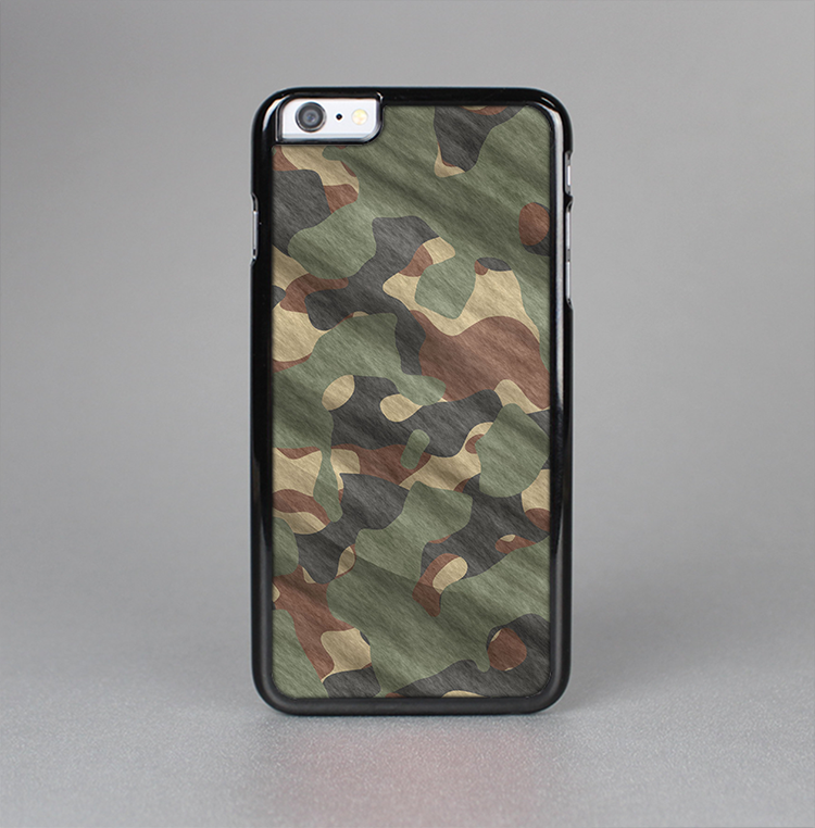 The Traditional Camouflage Fabric Pattern Skin-Sert for the Apple iPhone 6 Plus Skin-Sert Case