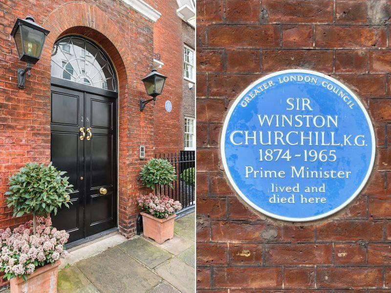 Winston Churchills Former 28 Hyde Park Gate Kensington Home