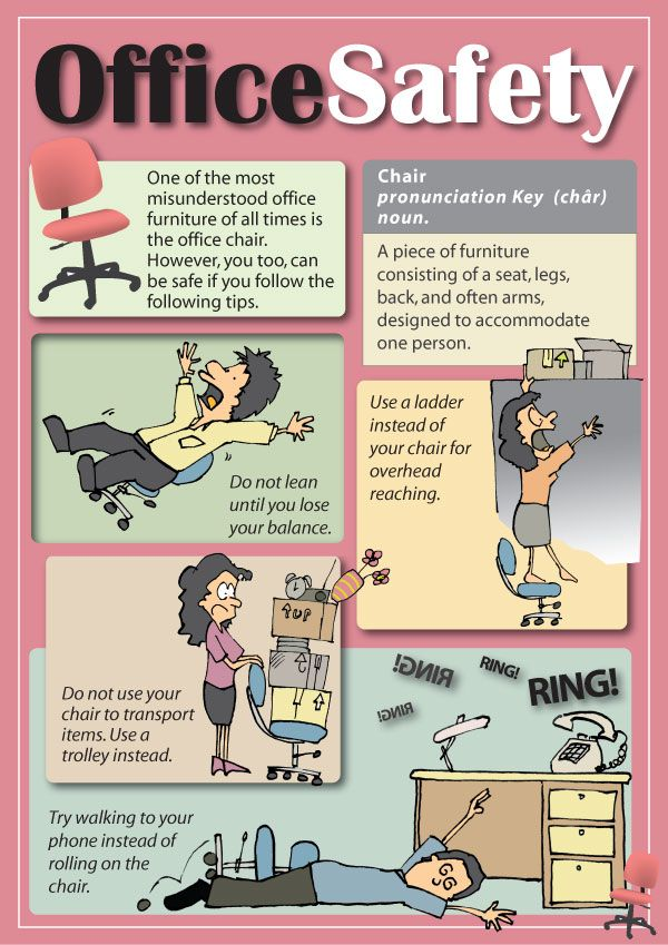 office safety tips | Office Safety Poster By Parka On Deviantart ...
