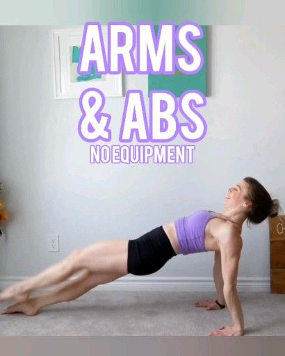 Arms & Abs No Equipment at Home Workout! -   9 fitness Workouts shape ideas