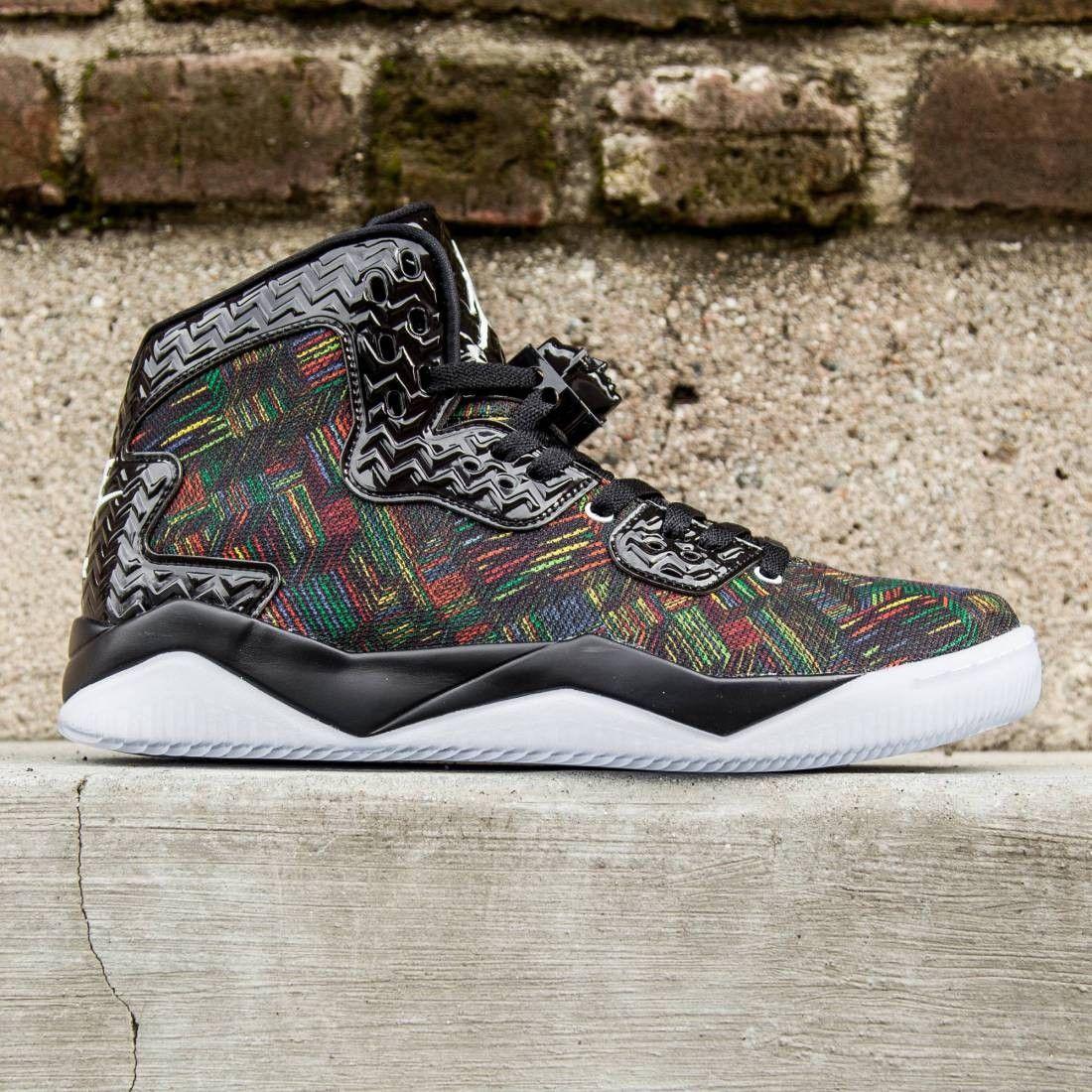 sports shoes ef101 b95c0 Jordan Men Air Jordan Spike Forty BHM (black   white   voltage green)