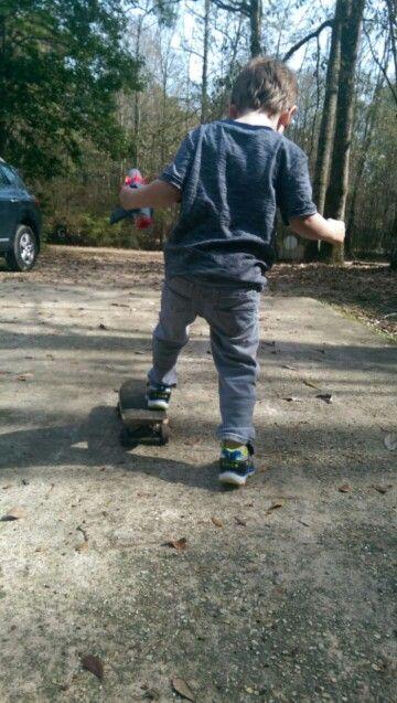 Skate early, skate long.