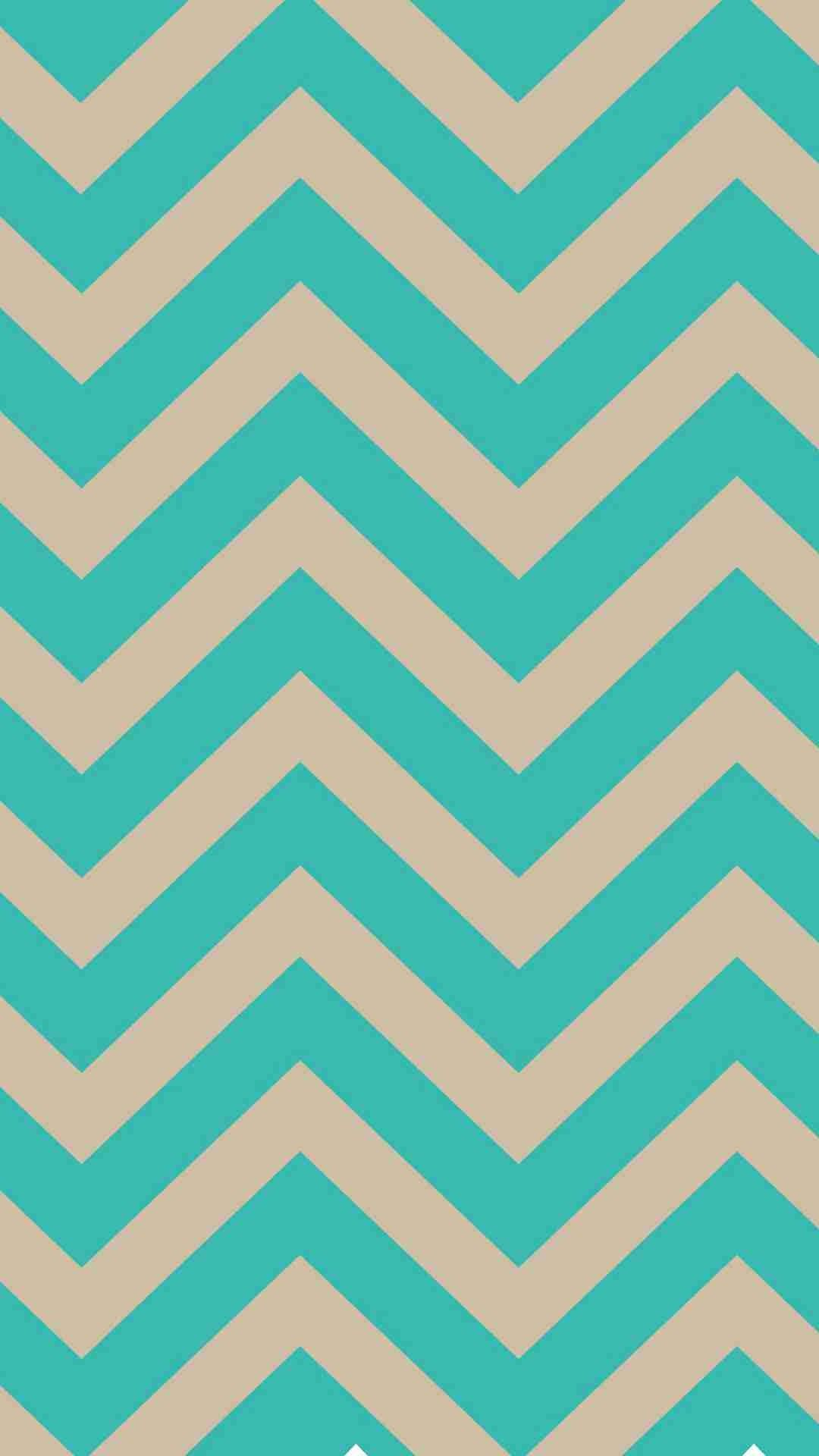 Turquoise Blue And Ivory Chevron Iphone 6 Plus Wallpaper
