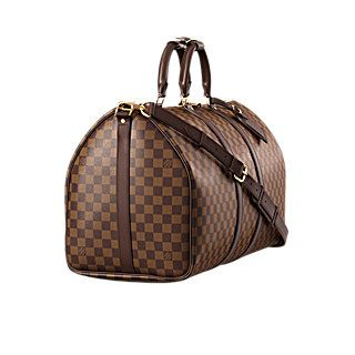 6536d7beda6 Travel bag Keepall Bandoulière 55 Damier Ebene Canvas - Travel ...