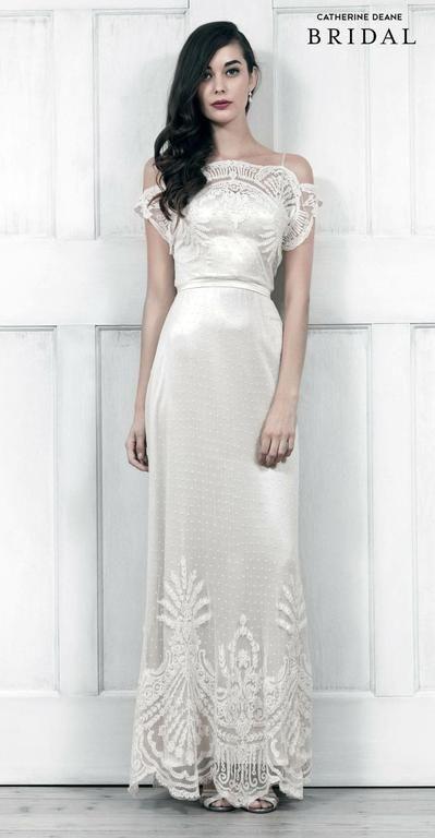 Bhldn Omelia 1 600 Size 2 Used Wedding Dresses Catherine Deane Wedding Dress Wedding Dresses Wedding Dresses Unique