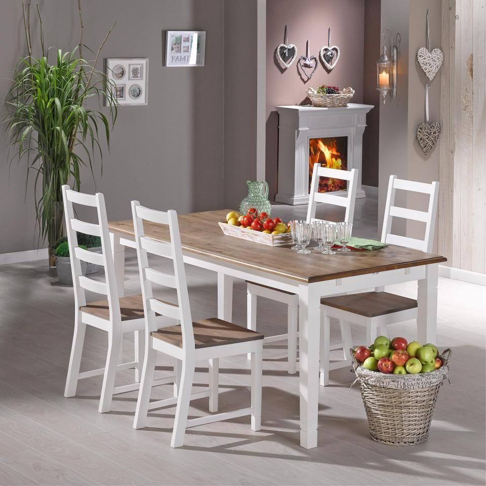 Table Paris 85x140 Cm Style Maison De Campagne Muebles Deco Muebles Decoracion De Unas