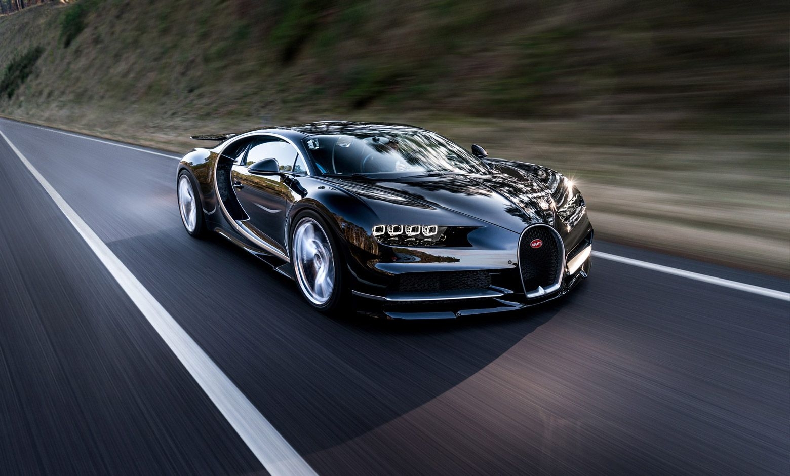 The bugatti chiron is will attempt to achieve a top speed record of 288mph in 2018