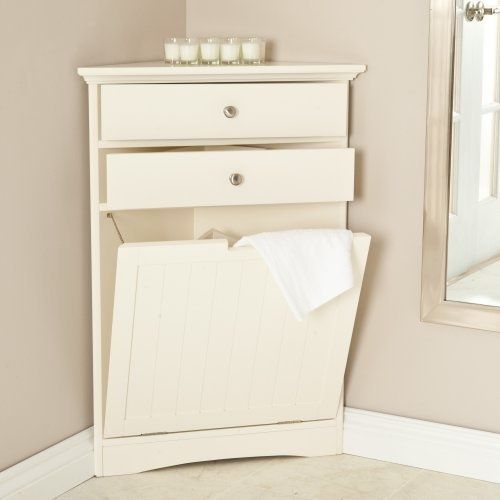 Corner Laundry Hamper As The Perfect Solution Laundry Room
