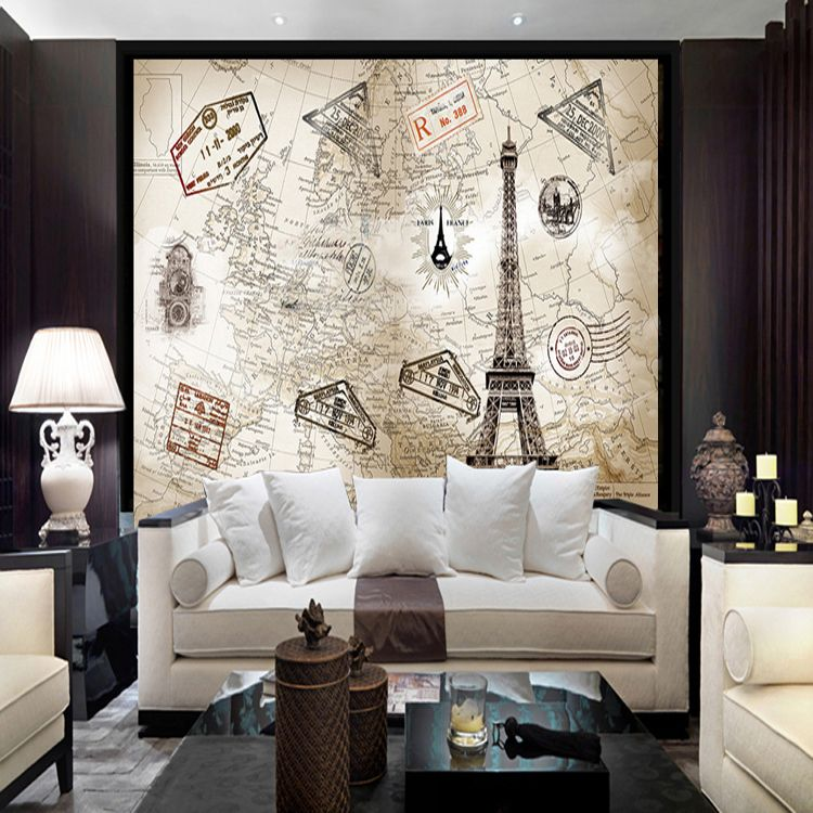 European retro world map personalized custom wallpaper murals european retro world map personalized custom wallpaper murals wallpaper the living room tv backdrop 3d stereo gumiabroncs Choice Image
