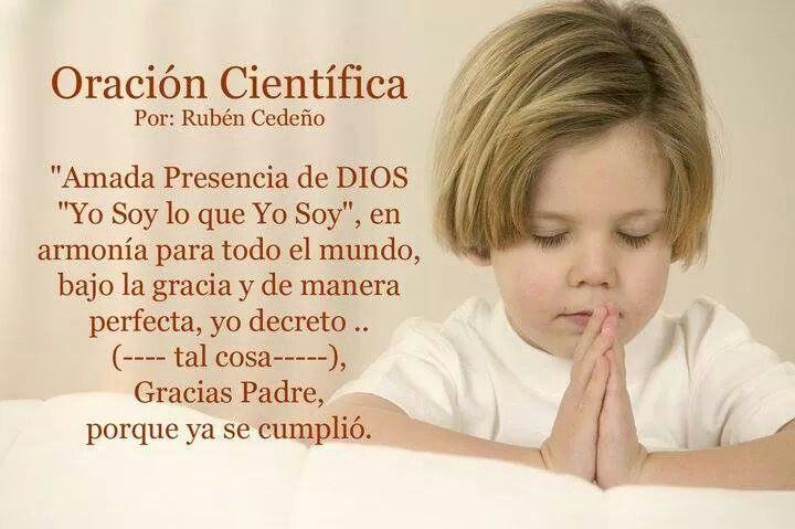 Oración Científica