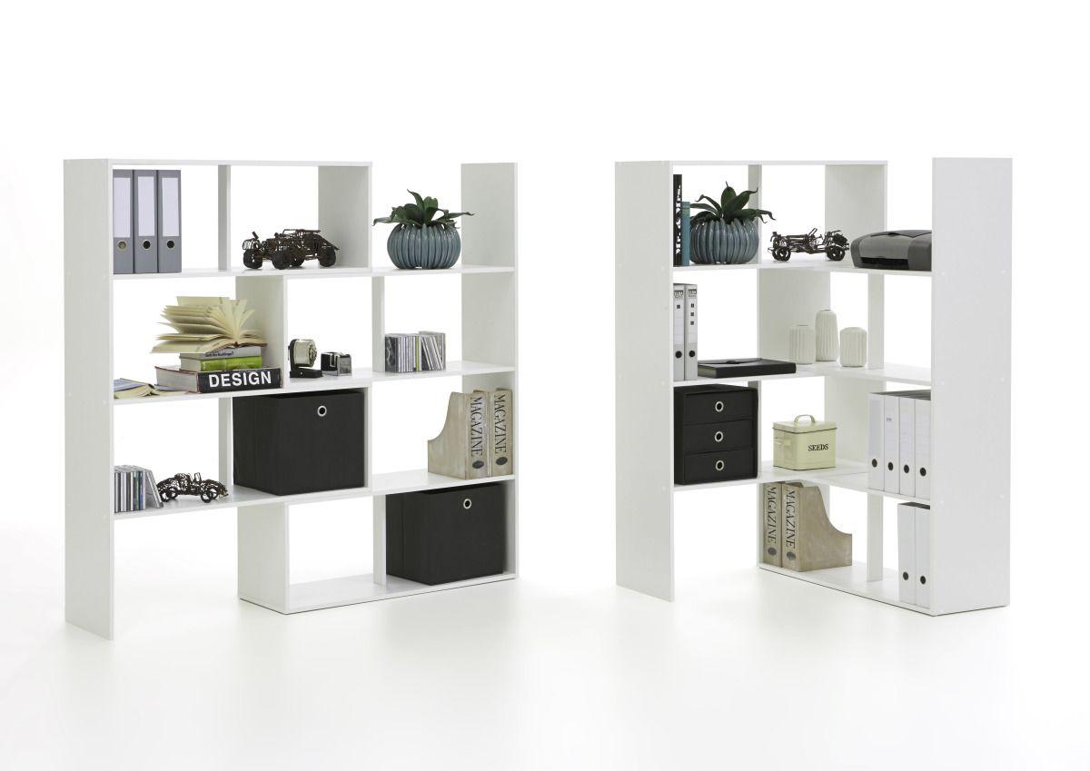 Wunderbar Raumteiler Regal Dekoration Von Stretch 1 / Von Fmd Weiß Jetzt