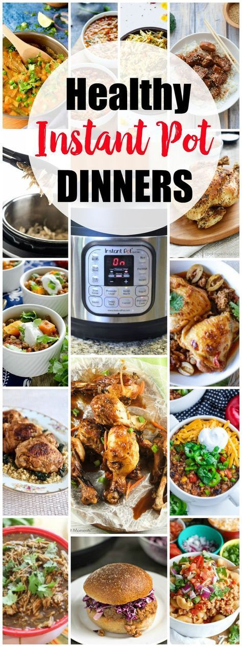 Healthy Instant Pot Recipes: The Ultimate Collection images