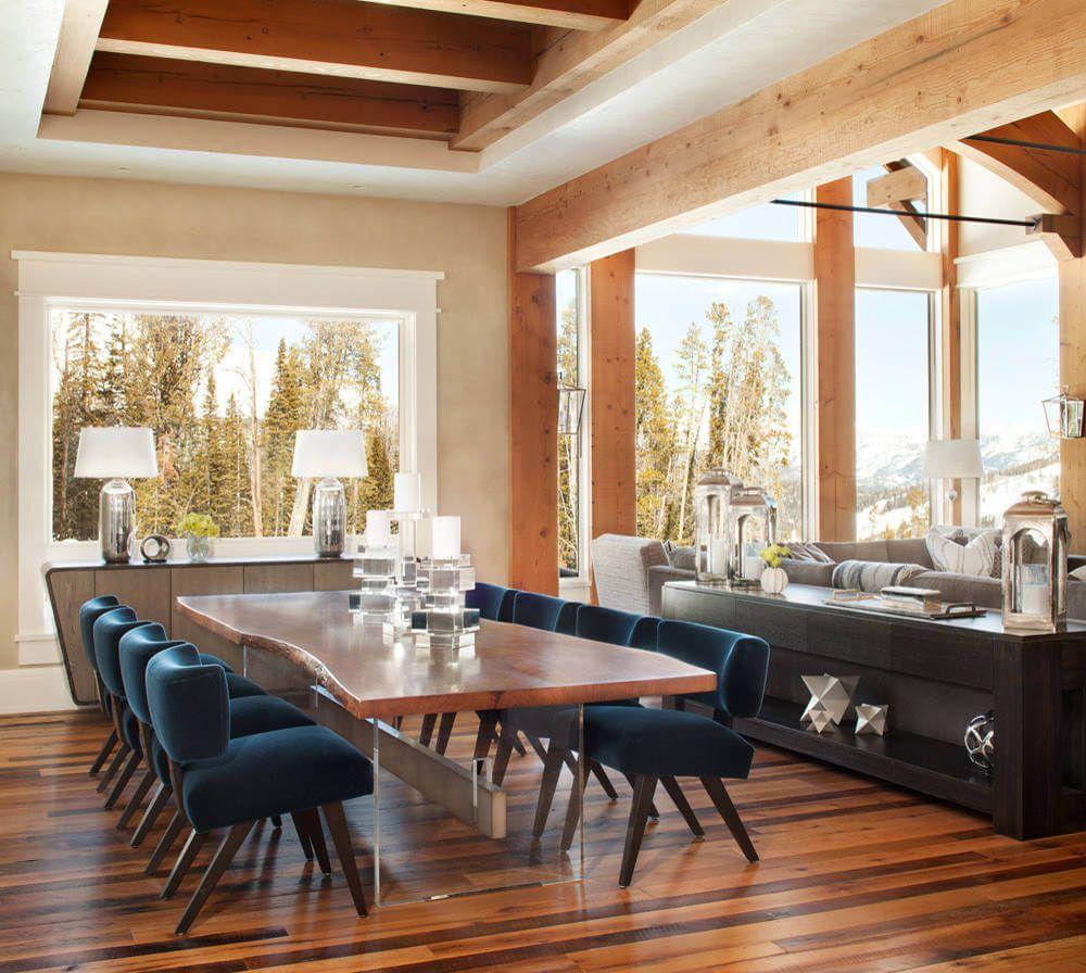 Mountain Home Denton House Design Interior