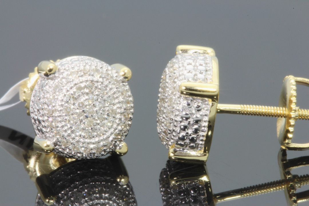 Awesome Real Diamond Earrings For Men Check More At Http Lascrer