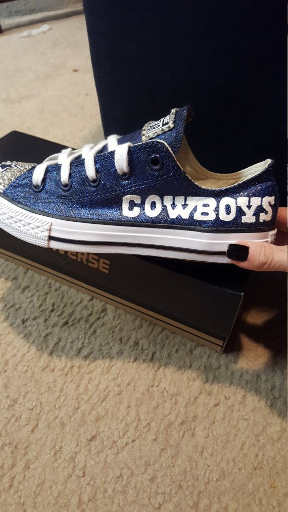 Bling dallas cowboy converse  5fb675df9