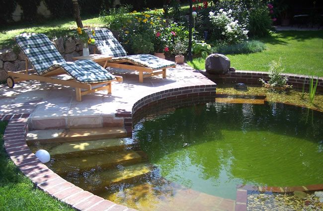 Schmudermayer Gartendesign - Wasser & Wellness - Naturpools ... Gartendesign Mit Pool