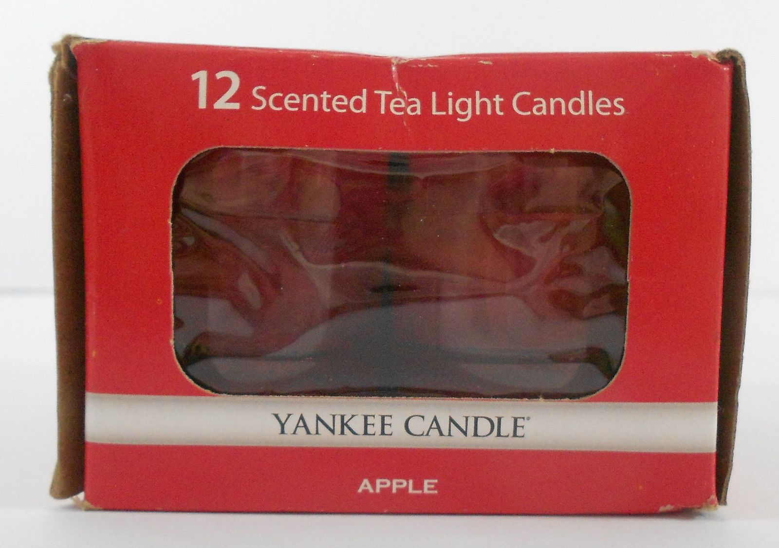 Yankee candle apple scented tea light candles set of brand new