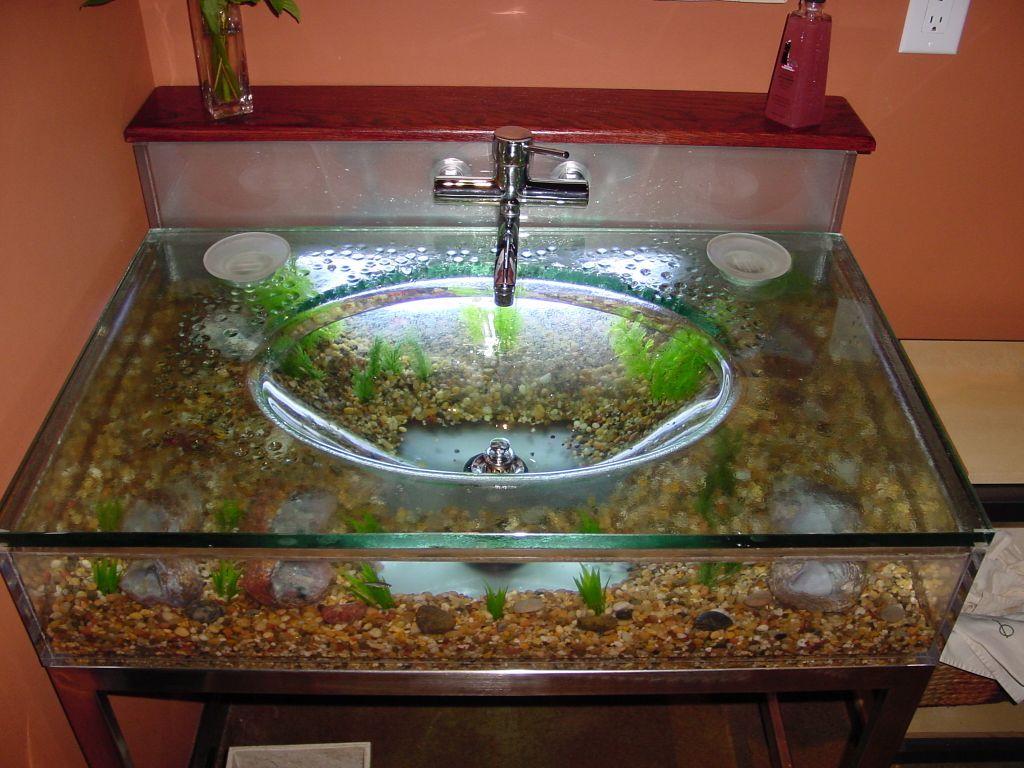 Ambelish 24 Bathroom With Aquarium On Custom Aquariums The Love Aquarium