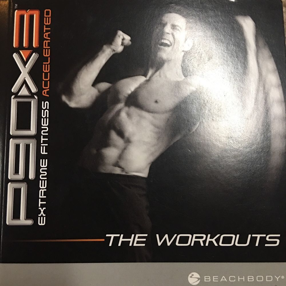 P90x 3 9 Dvd Set W Fitness Guide Exercise Home Workout Tony Horton Beachbody Ebay Workout Guide At Home Workouts Beachbody