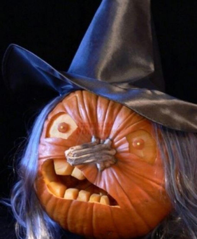 Ne vous contentez pas de creuser des triangles dans vos - Idee de decoration pour halloween ...