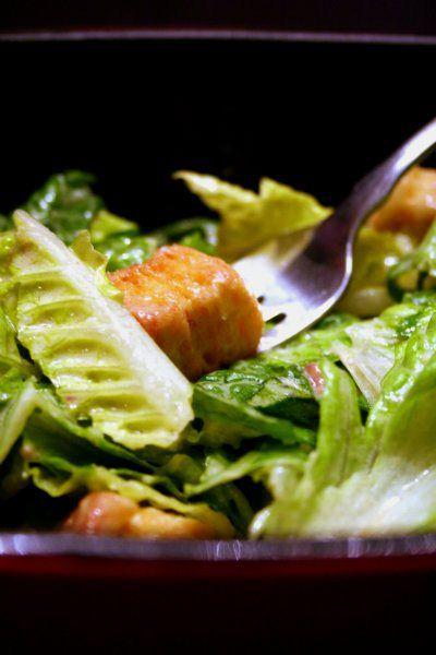 caesar salad | drag it through the garden