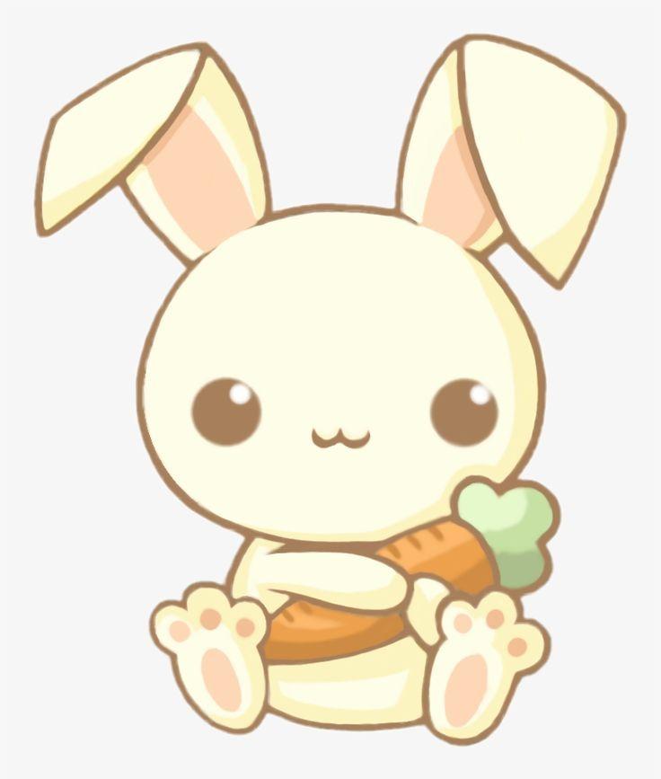 Cute Kawaii Bunny Rabbit Carrot Chibi Animals Adorable Easy Cute Bunny Drawing Free Transpa Cute Kawaii Drawings Cute Animal Drawings Kawaii Kawaii Animals