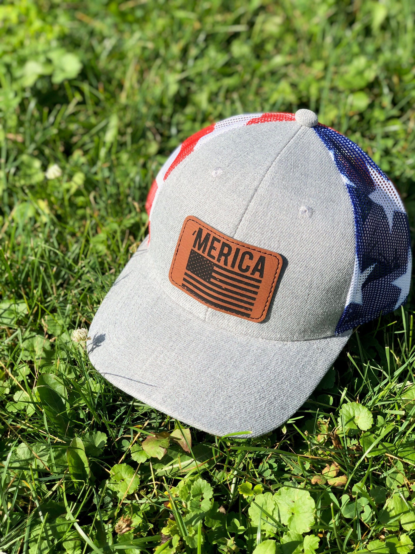 Patriotic hat  4th of July  hat for men  gift for him  dad gift  men's hat  Trucker hat  Hat for him  snapback hat  gift 