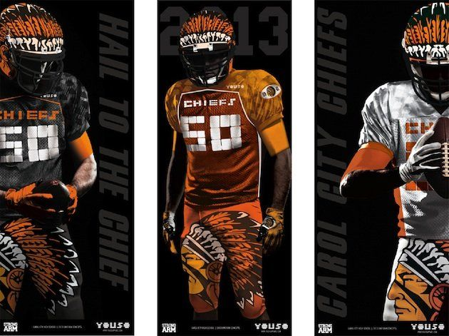 Flo Rida donates a contender for worst football uniform of