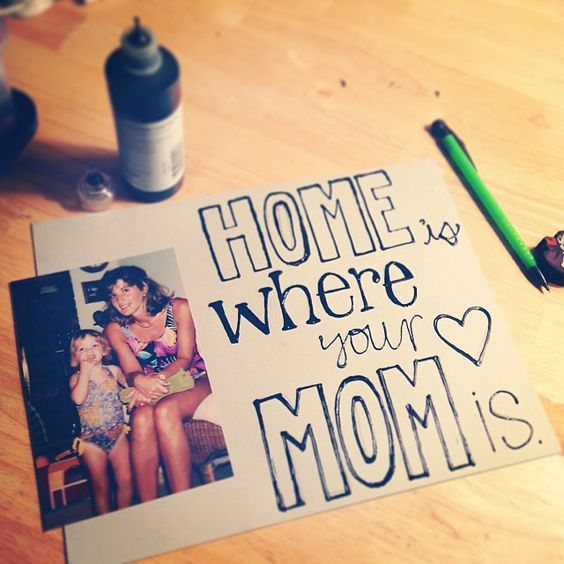 DIY Gift Idea For Mom From Kids Or Child
